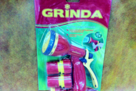 Набор поливочный 3/4″ для сада и огорода Grinda
