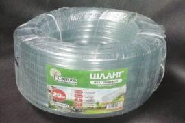 Шланг прозрачный пищевой силиконовый 20м 3/4″