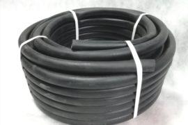 Шланг резиновый чёрный 16мм поливочный 25м